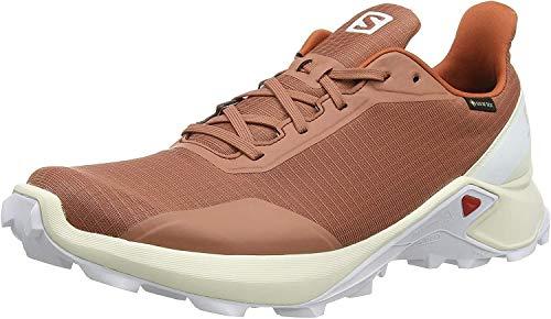TALLA 45 1/3 - Salomon Alphacross Gore-TEX, Zapatillas de Trail Running para Hombre