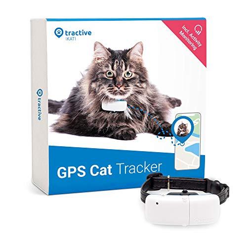 Tractive Localizador GPS para gatos, rango ilimitado