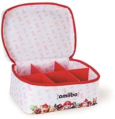 Bolsa de transporte y almacenaje para 6 figuras Amiibo (Nintendo Switch)