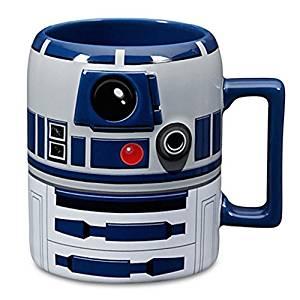 Mug Redondo de Porcelana R2 D2 12x8cm - Decorado
