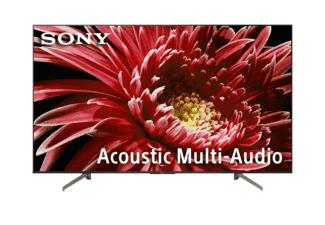 "TV LED 55"" - Sony KD-55XG8596 Ultra HD 4K HDR, Android 8.0 Oreo, X1, Triluminos, Asistente de Google"