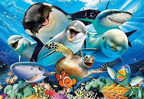 Educa Borras - Serie Selfies, Puzzle 500 piezas Selfie bajo el agua