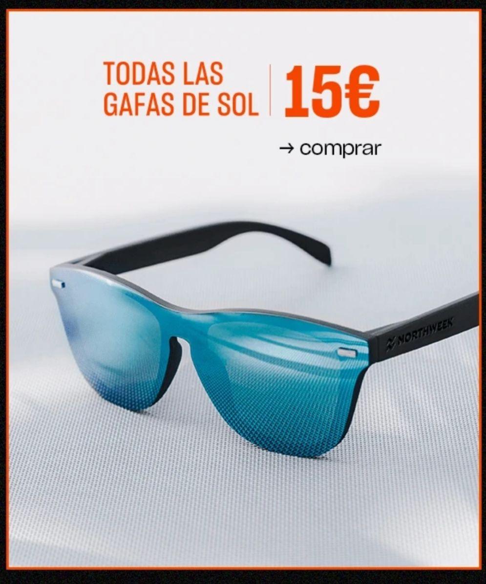 Todas las gafas Northweek a 15€