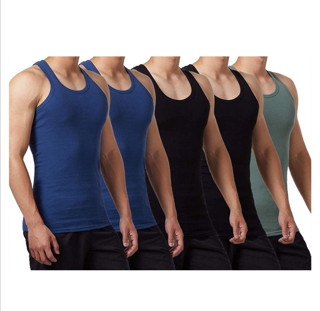 Camisetas de tirantes para hombres pack de 5