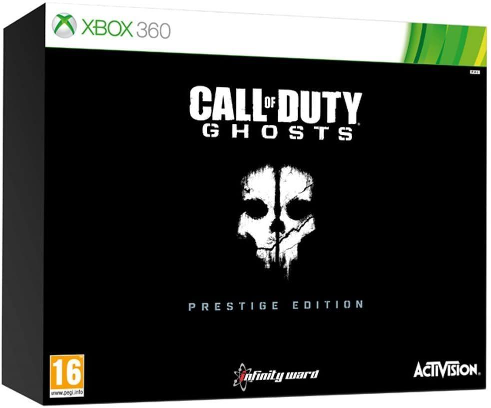 Call of Duty Ghosts Edición Prestige Xbox 360