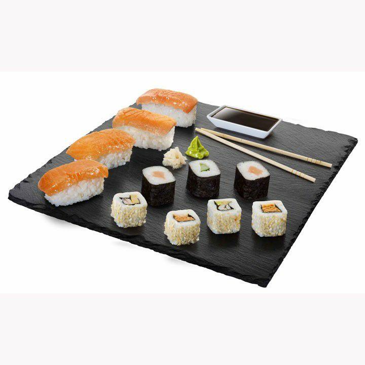 SUSHI PACK DE 26 UNIDADES (Incluye: salsa de soja, gari, wasabi y palillos)