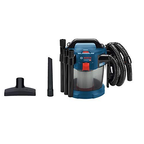 Bosch Professional GAS 18V-10 L Aspirador, capacidad 10 l, manguera 1,6 m, 90 mbar, sin batería, 0 W, 18 V