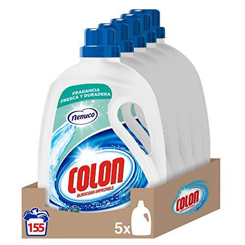 Detergente Colon Nenuco - pack de 5, hasta 155 dosis