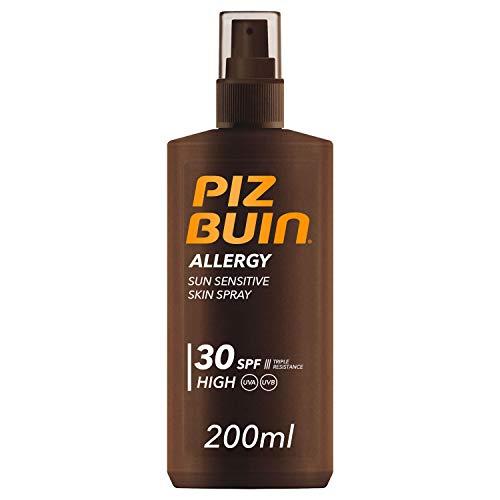 Piz Buin Allergy Protector Solar en Spray, SPF 30, Protección Alta para Pieles Sensibles