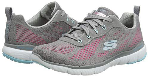 TALLA 36.5 - Skechers Flex Appeal 3.0-Pure Velocity, Zapatillas para Mujer