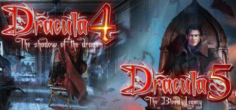 PACK DE 2 JUEGOS DRACULA 4 Y 5 Special Steam Edition (pc)