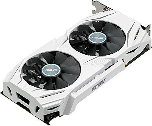 ASUS DUAL-GTX1060-6G - Tarjeta gráfica (Dual, NVIDIA GeForce GTX 1060, 6 GB, GDDR5 HDMI, DVI, DP)