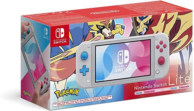 Nintendo Switch Lite Edición Limitada Zacian y Zamazenta