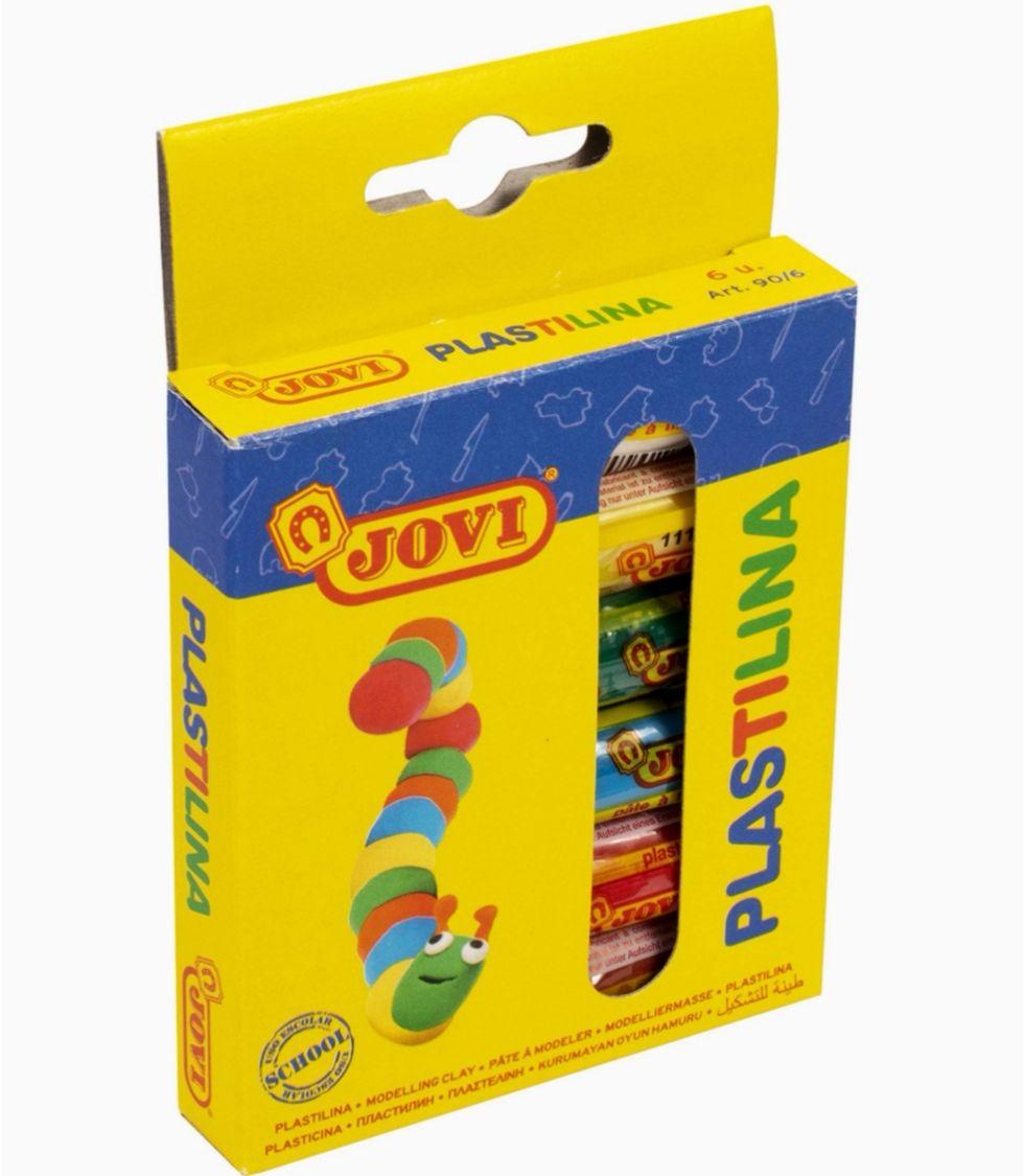 Jovi- Plastilina 6 colores