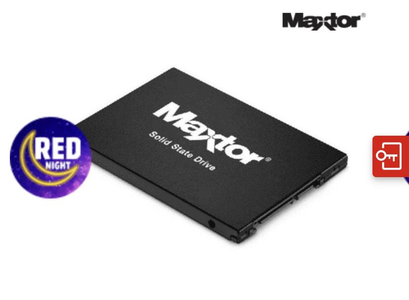 Ssd 480gb maxtor