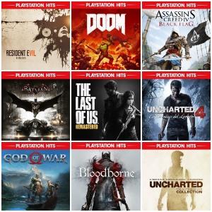 Playstation Hits :: Hasta un 80%, desde 3,99€ (PS4)