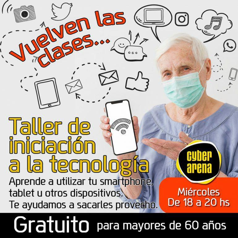 Cursos gratis para que los mayores de 60 años aprendan tecnología, en Denia