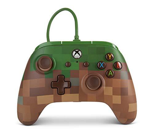 Mando inalámbrico Minecraft para Xbox One de PowerA