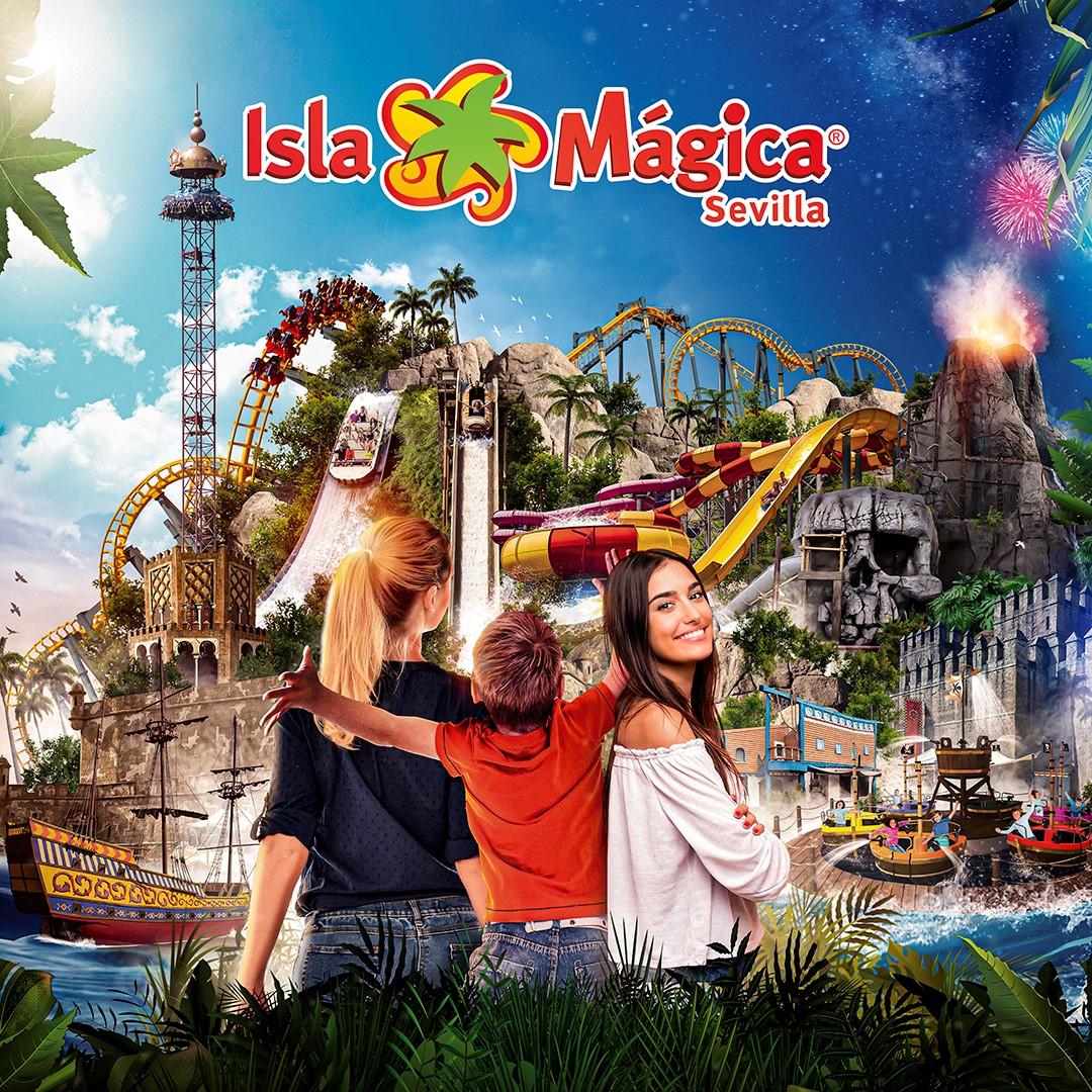 Isla Mágica 1 Día completo + 1 Tarde de viernes