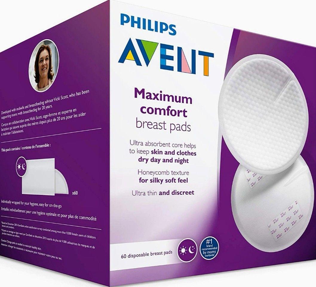 Philips Avent - 60 Discos absorbentes de lactancia