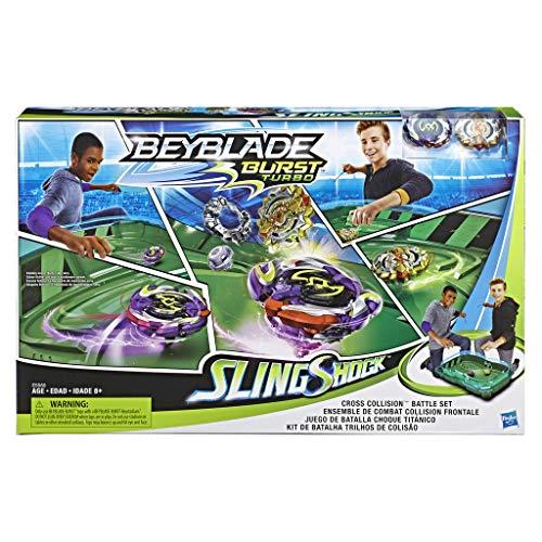 Estadio Beyblade - Hasbro Bey Cross Collision Battle Set