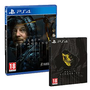 Death Stranding PS4 Ed. GAME, Ed. Especial y Collector's Edition