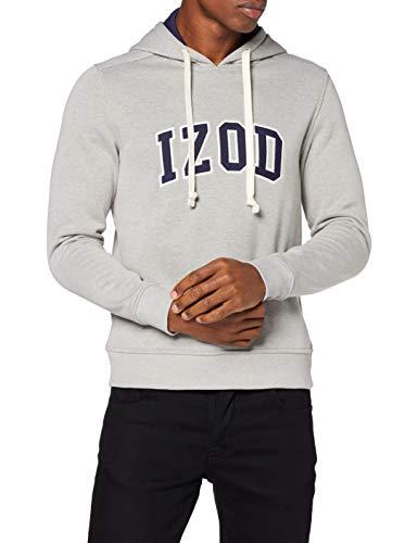 TALLAS S y L - Izod Applique Fleece Hoodie Sudadera para Hombre (Desde 9.37€)