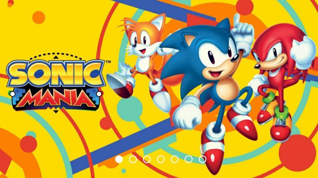 Sonic Mania para switch casi regalado store de Hong kong