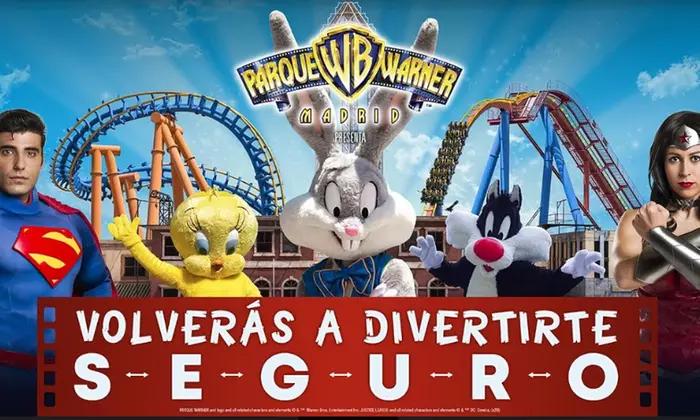 Ofertas parque warner y zoo aquarium de Madrid