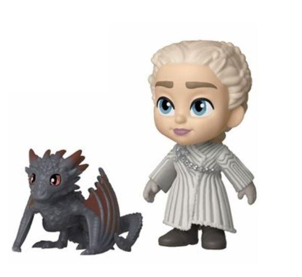 Figura Funko Juego de Tronos - Daenerys Targaryen + Dragón, Figura TV