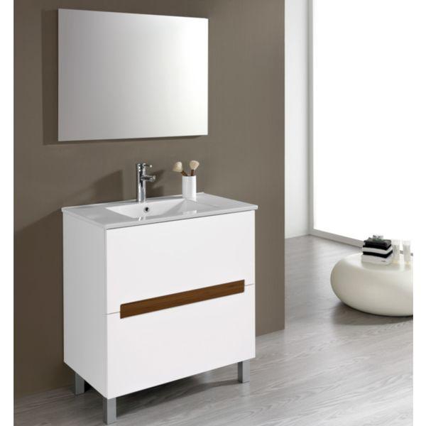 Conjunto de baño (Lavabo , mueble y espejo)
