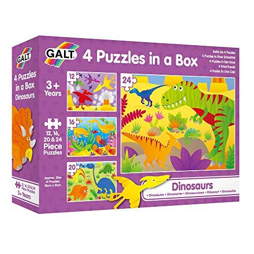 4 puzzles Toys Mi Primer Puzle, Dinosaurios,