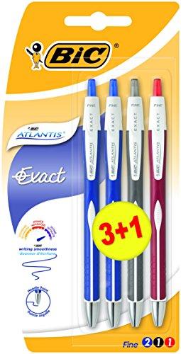 Pack de 4 bolígrafos BIC Atlantis por 2,13€