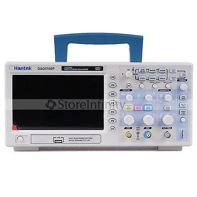 Osciloscopio Hantek DSO5102P 1GSa/s 100MHz (hackeable a 200)