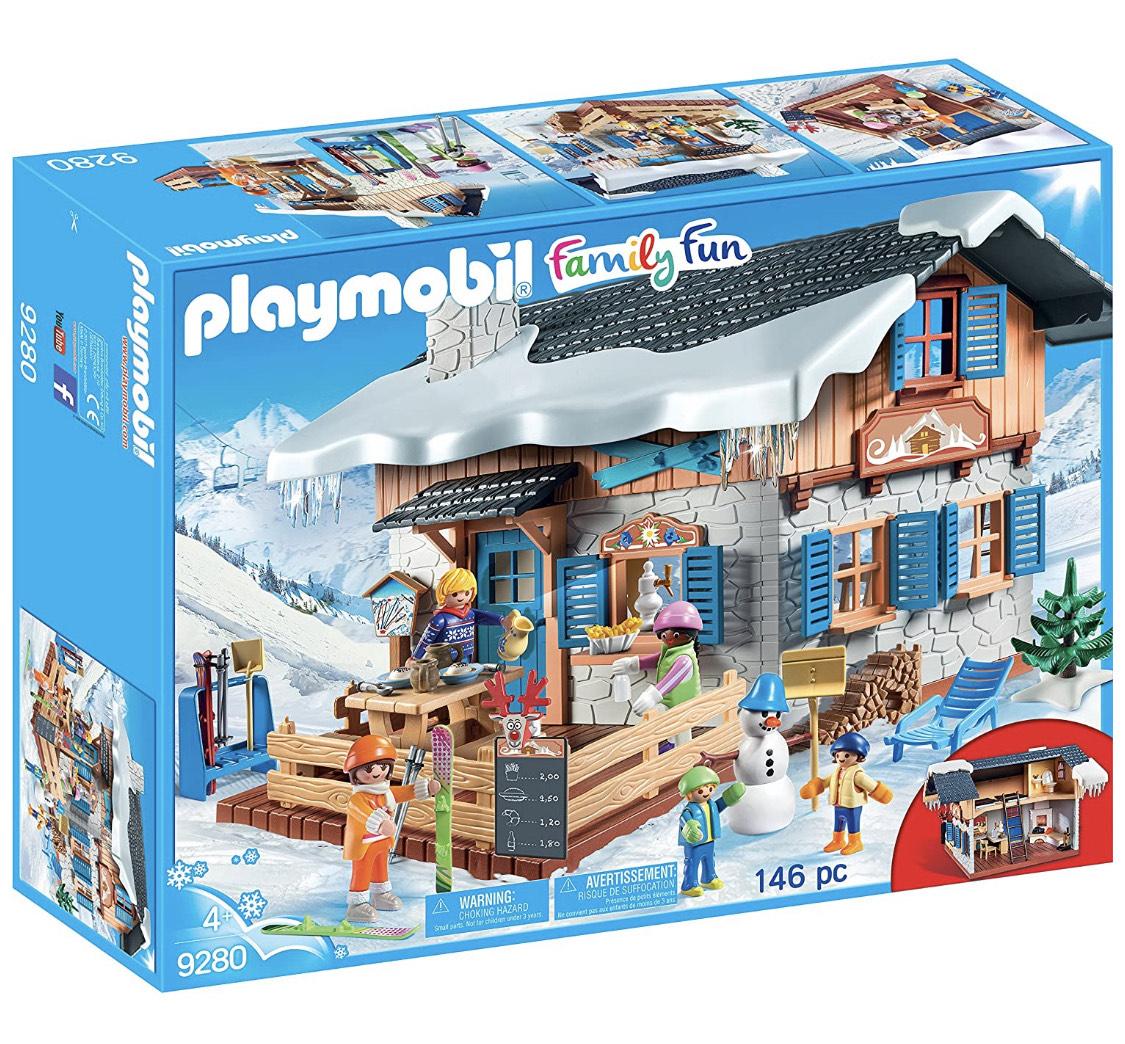 Playmobil Cabaña de esqui 9280