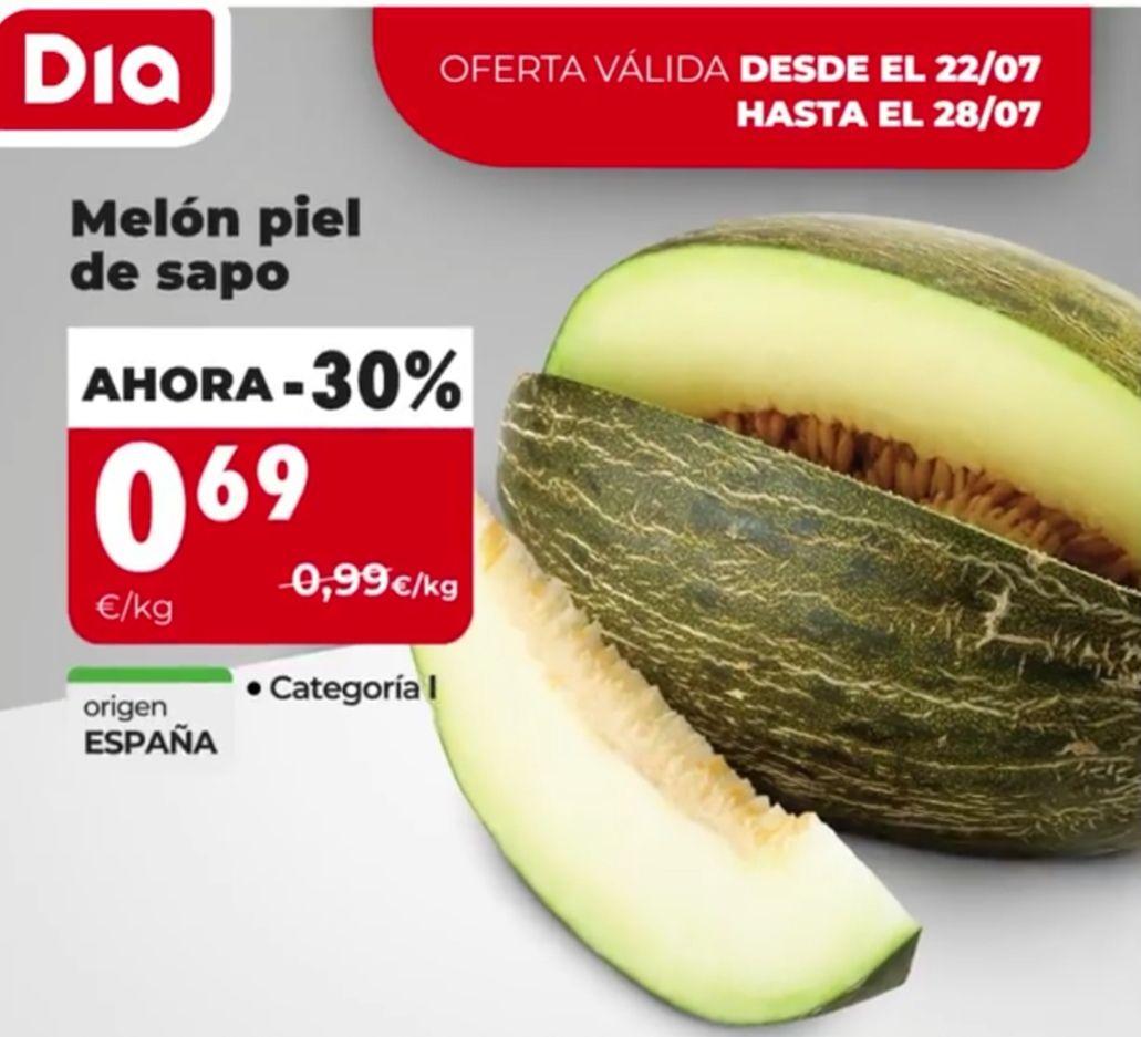 Melon supermercado Dia