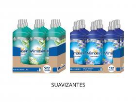Mimosín Creaciones Flor de Lirio y Lima Suavizante Concentrado para 58 lavados - 9 Suavizantes