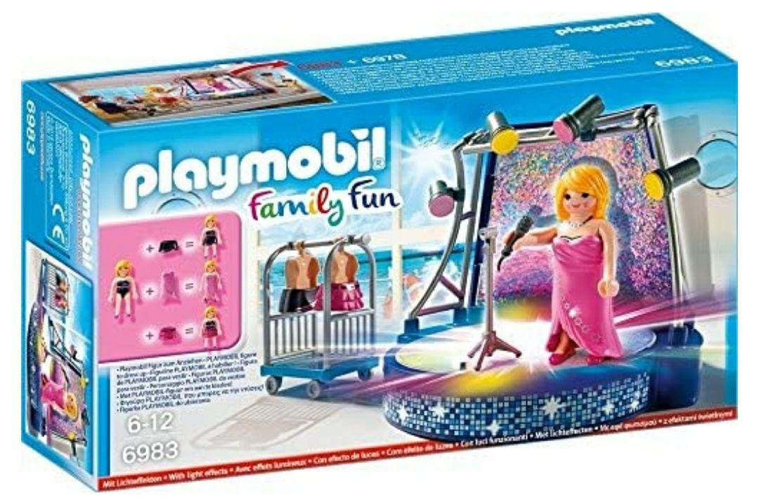 Playmobil Crucero Playset de Figuras de Juguete, Color Rosa, 24,8 x 7 x 14,2 cm