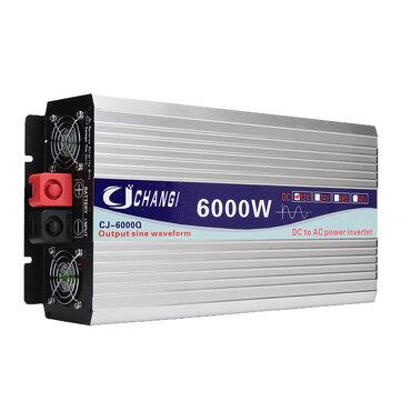 Inversor 12V 220V transformador de voltaje inteligente inversor de energía Solar 3000W