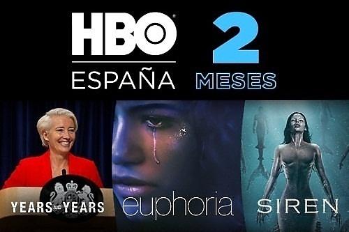 HBO 2 meses gratis con Travel Club