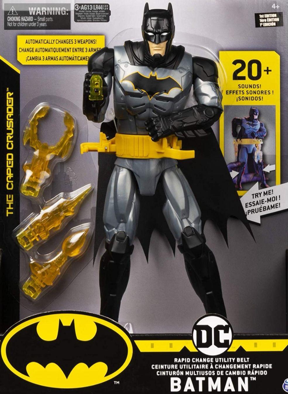 Figura Acción Batman 30 cm. Con + de 20 efectos de sonidos y luces (Precio al tramitar)