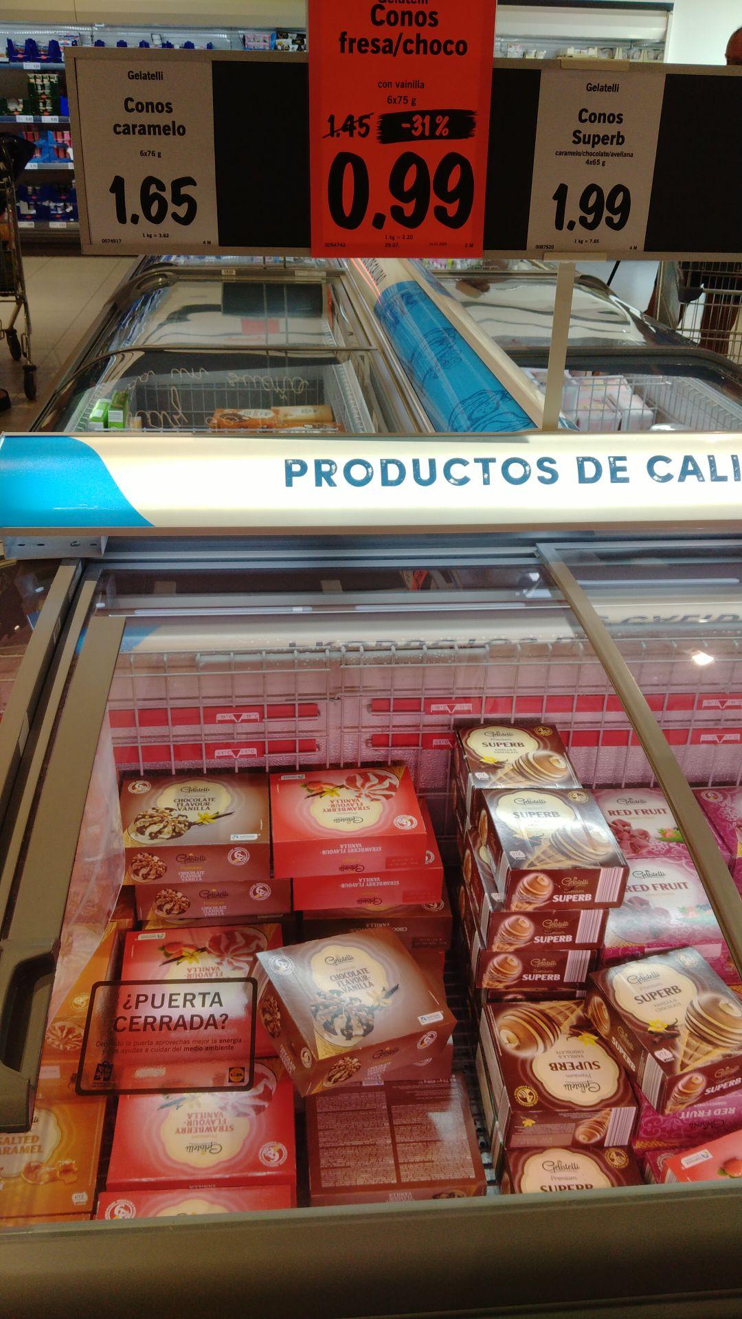 6 helados por 1€