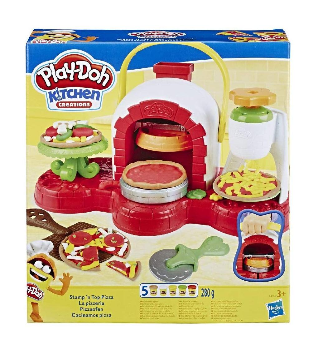 Play doh, cocina de pizza