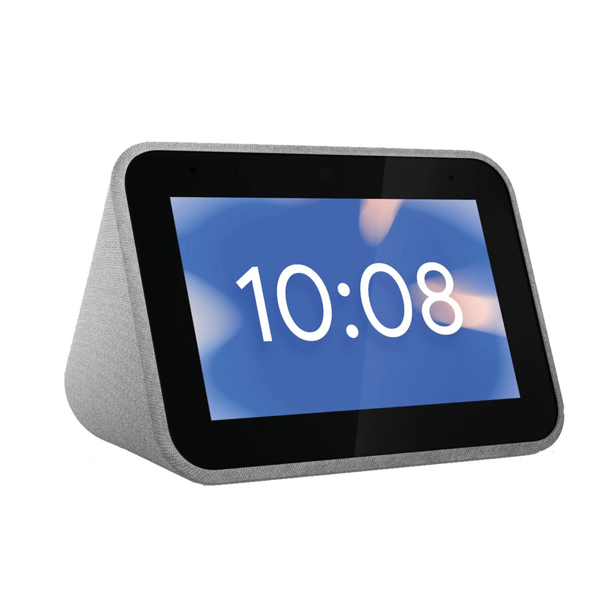 Pantalla inteligente Lenovo Smart Clock Gris con Asistente de Google