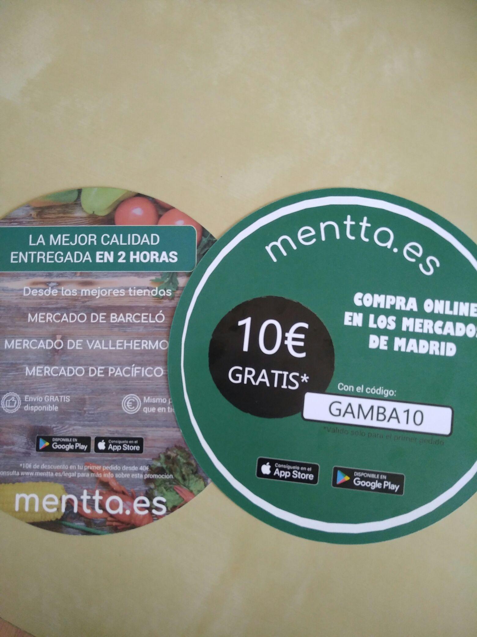 10€  + Envío Gratis (compra superior a 40€)