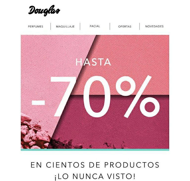 Hasta un 70% en perfume/ MAQUILLAJE/ parafarmacia....