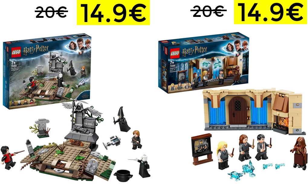 Lego Harry Potter solo 14.9€