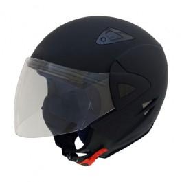 casco de moto JET negro mate ENVÍO GRATUITO