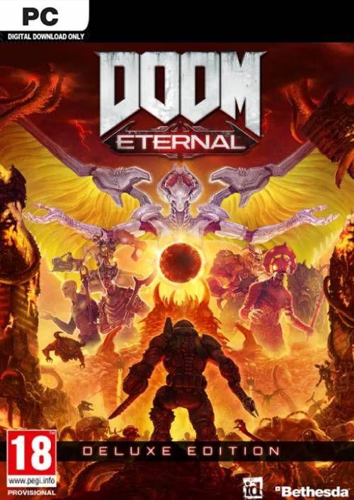 (PC) DOOM Eternal Deluxe Edition & DLC 31,29€ - Cd keys