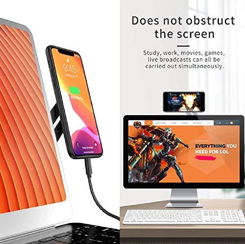 Adaptador de moviles para portatiles y pantallas.